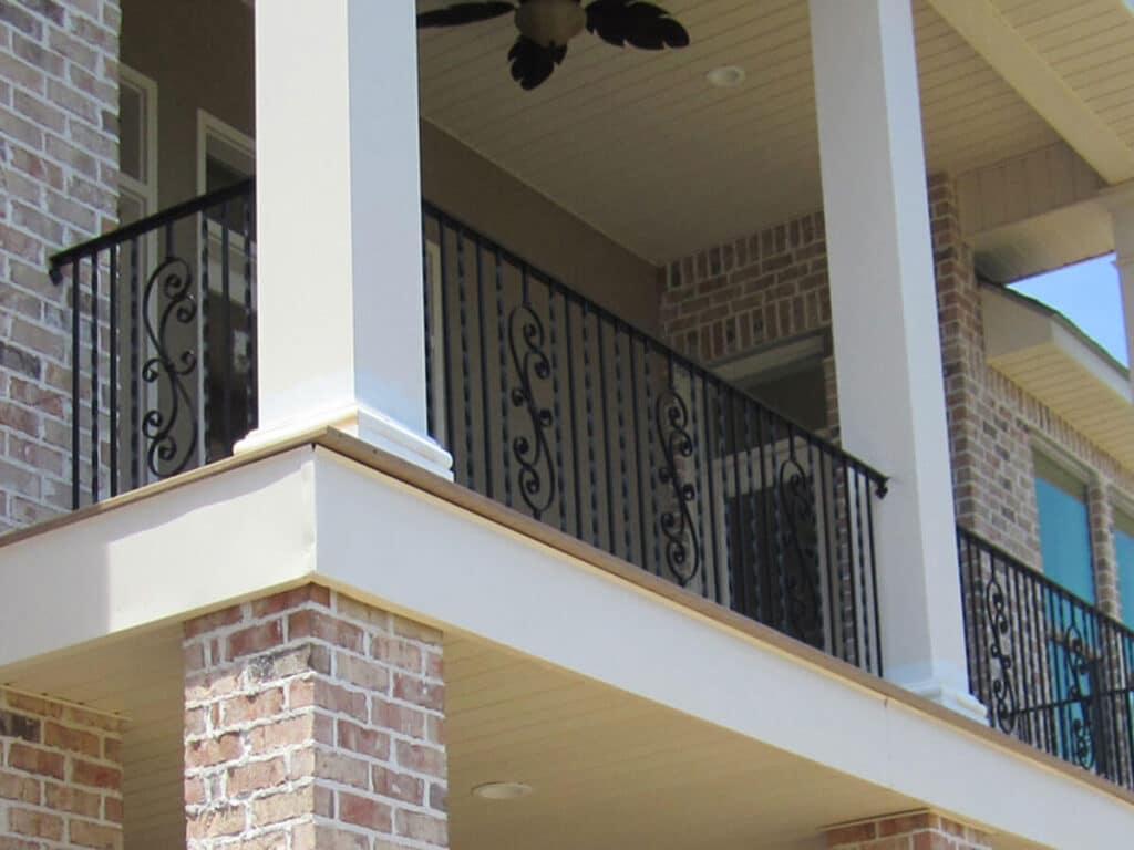 Porch Enclosure New Orleans - Crescent Iron Works