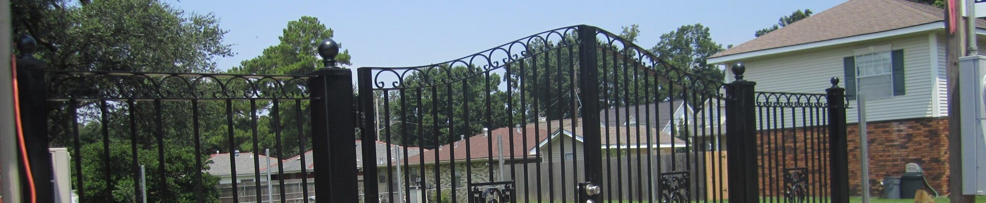 Swing Gate - Crescent Iron Works