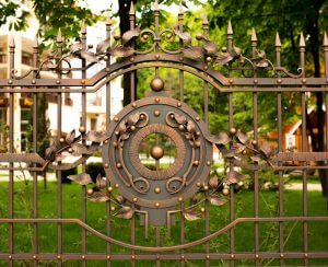quality metal fence with beautiful designs - Big Easy ironworks