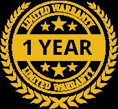 1 Year Logo