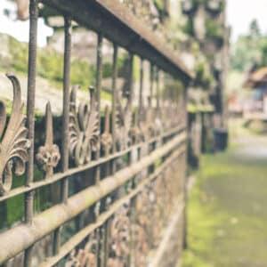 Wrought iron sliding gates - Big  Easy Iron Works