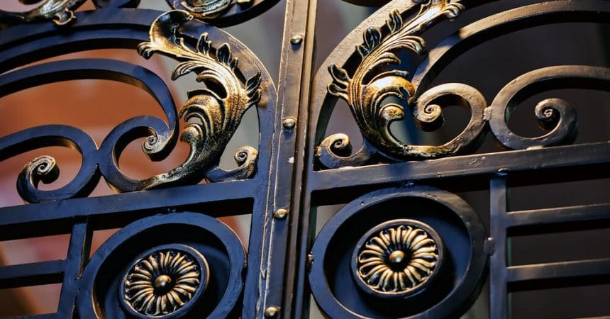 Upgrading to Wrought Iron Door:  A New Home Statement Blog-Image