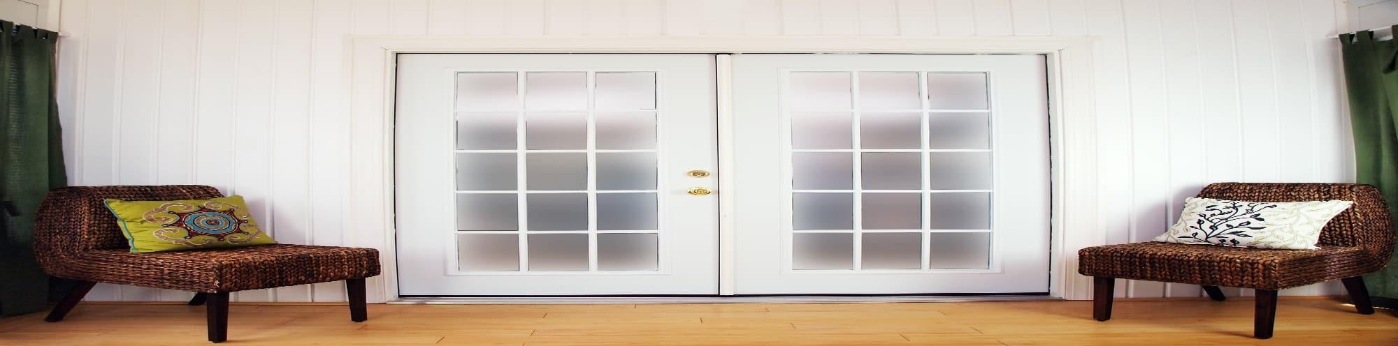 Double French Doors - Big Easy Iron Works