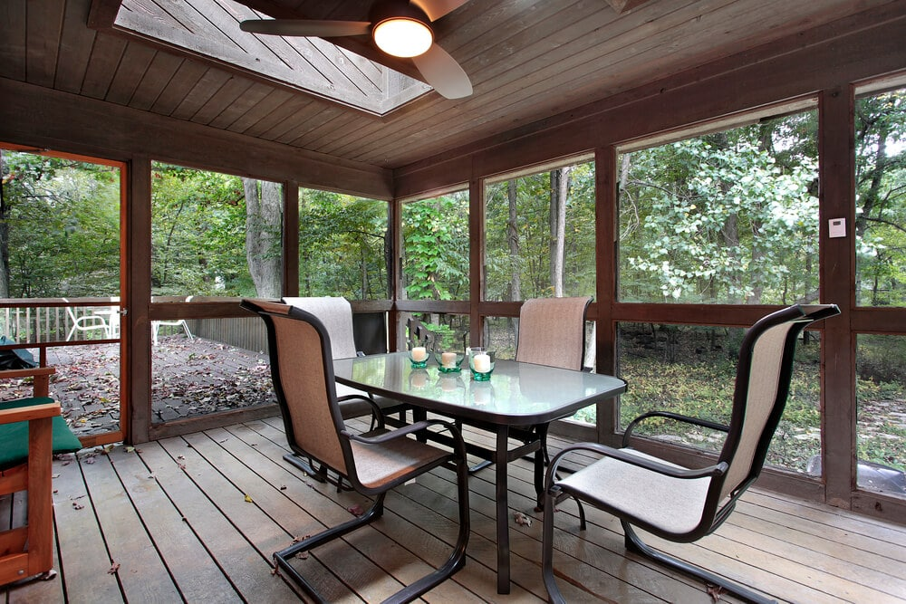 How Much to Enclose a Porch